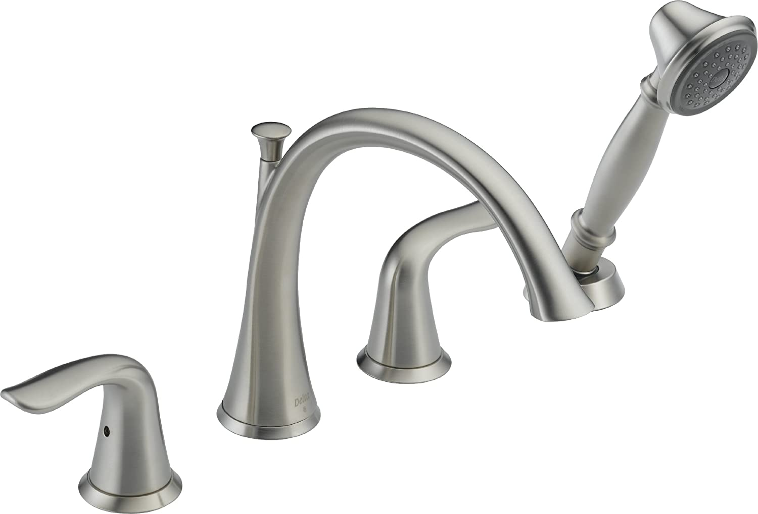 Beautiful Delta Roman Tub Faucet With Hand Shower Contemporary ...