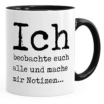 Moonworks Lustige Kaffeetasse Mit Spruch Geschenk Buro Kollegen Ich