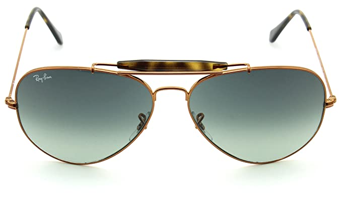 42f6beab2 Image Unavailable. Image not available for. Color: Ray-Ban RB3029 197/71  OUTDOORSMAN II Grey Gradient ...