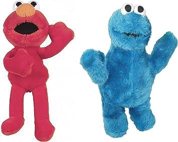 Sesame Street Pack 2 Peluches Barrio Sesamo Elmo Y TRIKI EL ...