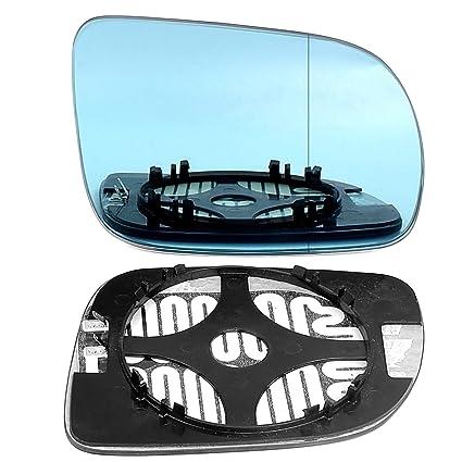 Derecho Lado del conductor gran angular espejo retrovisor azul ...