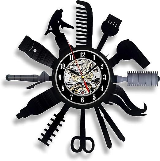 HAIR SALON Wall Clock stylist beauty dresser art gift