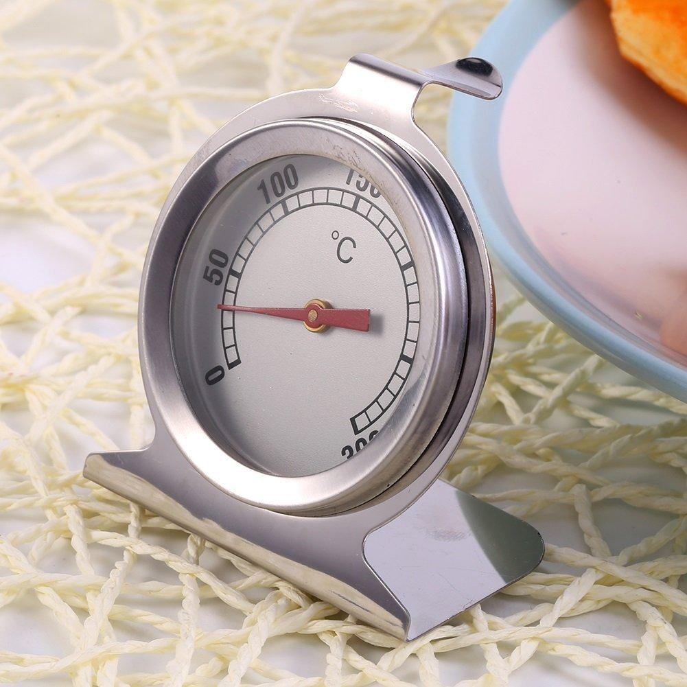 Term/ómetro del horno del acero inoxidable de Cocina de la hornada, Herramienta de medici/ón de la temperatura del tostado Calibrador de la temperatura del Bbq de la cocina de la alta precisi/ón