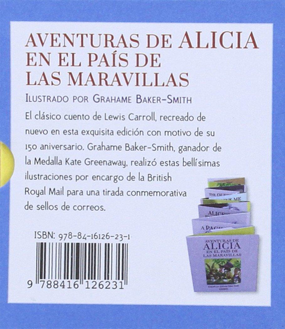 Aventuras de Alicia en el país de las maravillas: Amazon.es: Lewis ...
