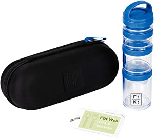SnackSmart Kit - Portion Control, Healthy Eating, Snack Healthy Container, Eating Tips