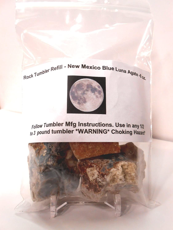 Amazon Rock Tumbler Gem Refill Kit New Mexico Blue Luna Agate