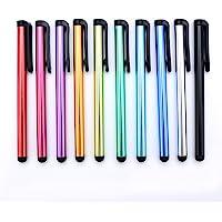 Yizhet 10x universele Stylus Pen Touch Pen invoerstift met clip Ontwerp voor iPhone iPad Samsung Galaxy en alle smartphone-Tablet met capacitief touchscreen