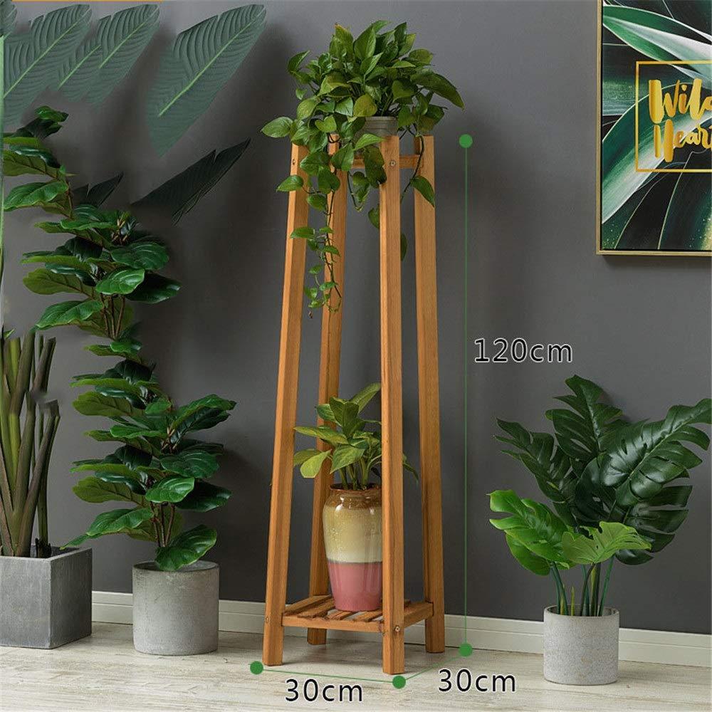 Gububi Rack de Flores Planta de bambú Escalera Estante Soporte de ...
