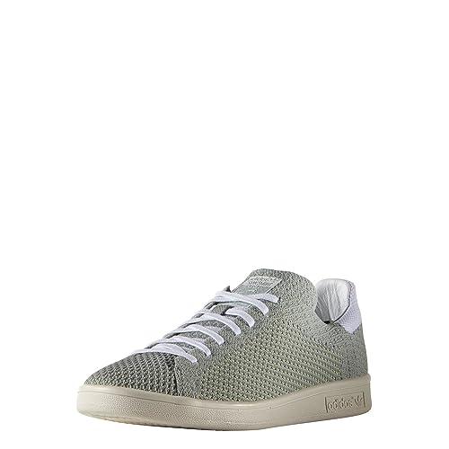 Adidas Stan Smith Primeknit Nm, Brouillard Ardoise Ftwr Blanc Craie Blanche, 5
