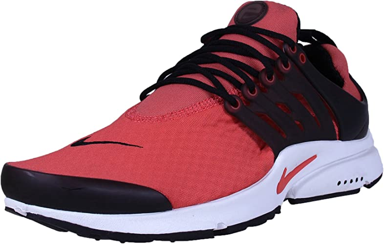 Nike Air Presto Essential Running Shoes Red Black 848187-600 Mens Size