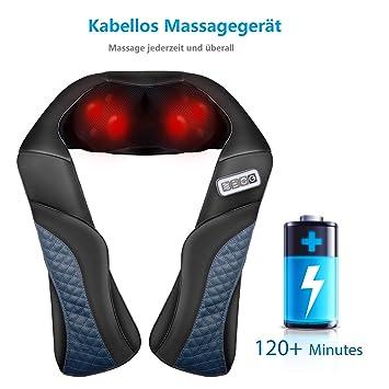Pflege- & Wellness-geräte Elektrische Massagegerät Mit Wärmefunktion Für Schulter Nacken Rücken De Sonstige