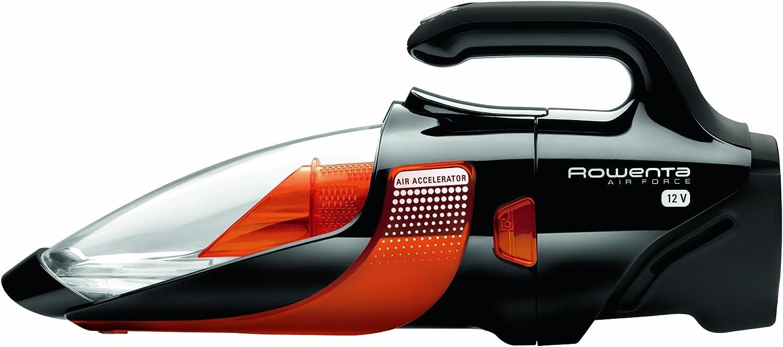 Rowenta AC9133 Aspiradora de mano, 12 V, capacidad de 0.8 L, color negro y naranja: Amazon.es: Hogar