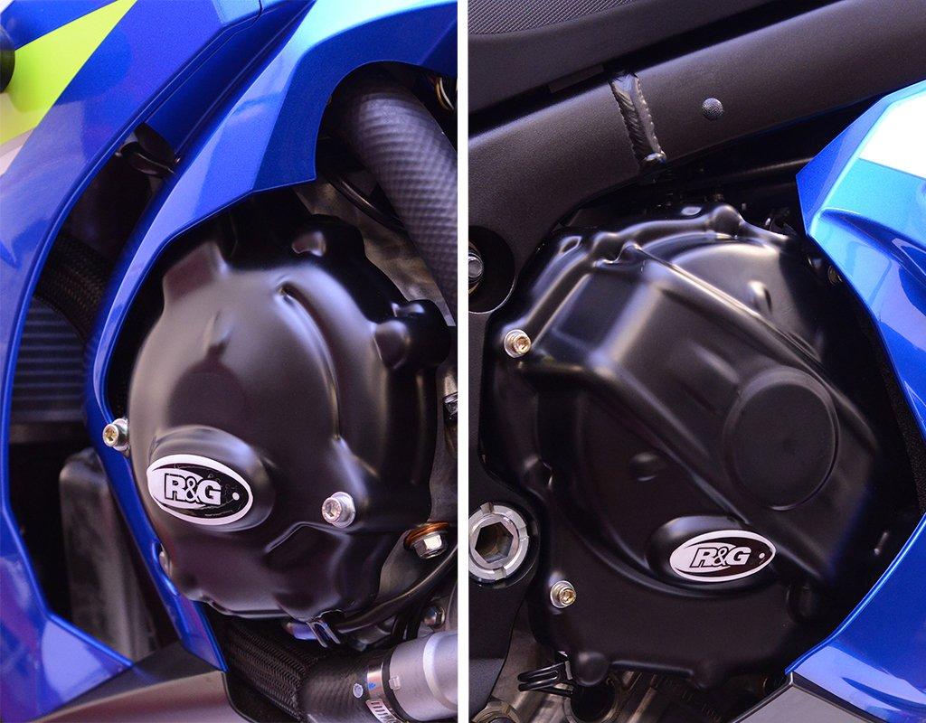 R&G Engine Case Cover Kit for Suzuki GSX-R1000 & GSX-R1000R '17-'18   2 Piece