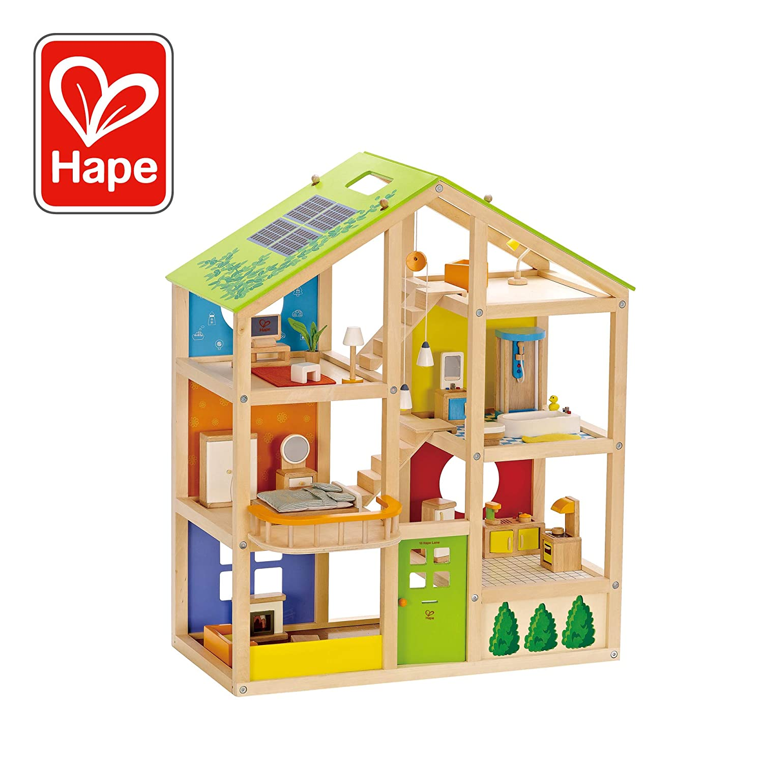 Top 9 Best Dollhouse for Toddlers Reviews in 2019 4