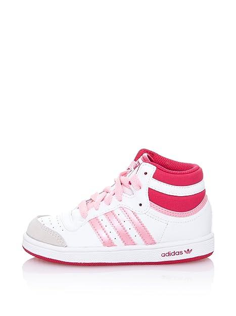 adidas Wenzhou, Botines para Niños, Blanco/Rosa, 24 EU: Amazon.es: Zapatos y complementos