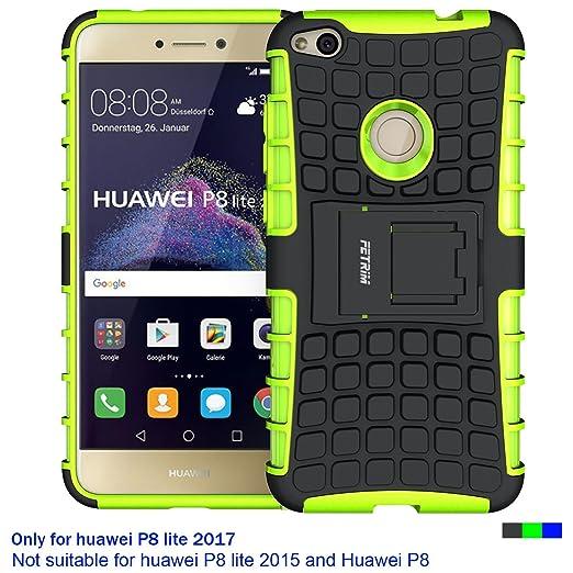 3 opinioni per Custodia Huawei P8 Lite 2017 ,Fetrim Cover P8 Lite 2017 , supporto anti urto