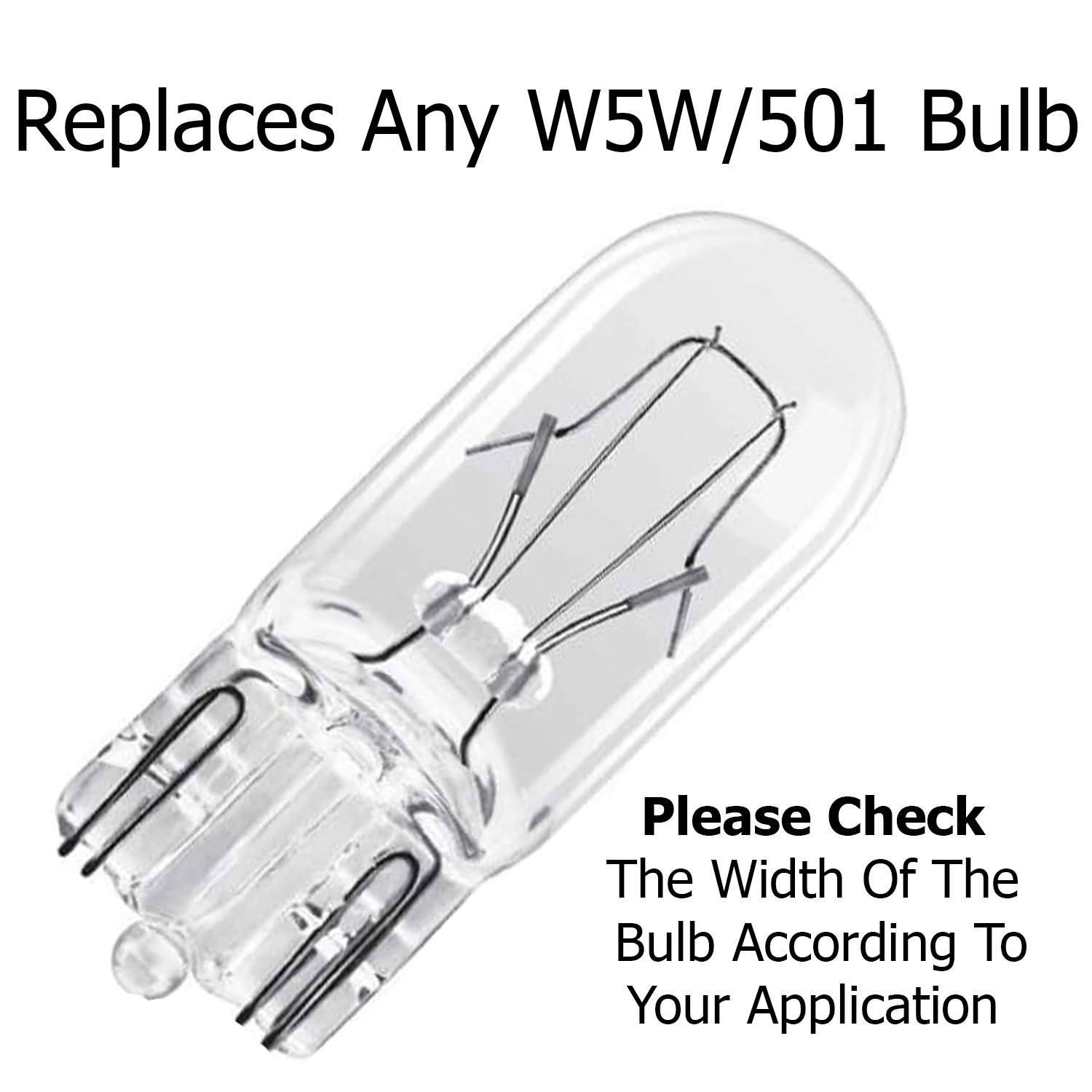 Amazon.com: UltraVision LED 501 Interior Bulbs, 12 V, 5 W, Pack of 2 – FREE 12 Month Warranty: Automotive