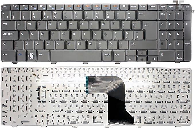 NEW DELL INSPIRON P10F P10F001 UK alineación de teclado para ...