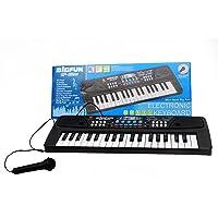 BIGFUN 37 Key Piano Keyboard Toy Organ, Black