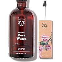 BIOLOGISCH ROZENWATER | Hydrolaat van Rosa Damascena 100% Puur & Natuurlijk | Geen Alcohol Toegevoegd, Zonder…