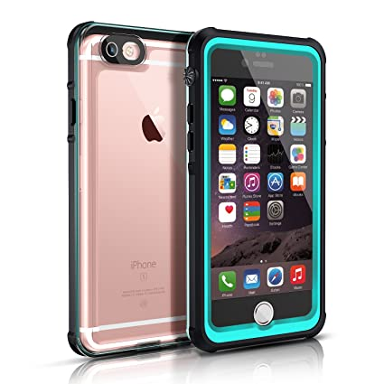 Amazon.com: iPhone 6S Clear Waterproof Case, Easylife IP68 Certified Extreme Durable Shockproof Snowproof Full Sealed Perfectly Fit iPhone 6S/6 ...