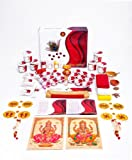 VIPRA VIDHIT COMPLETE DIWALI PUJA (PUJA ESSENTIALS) BOX WITH CONTAINERS