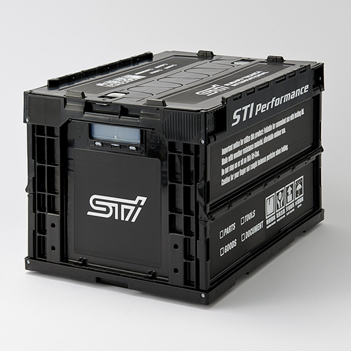 SUBARU STI Authentic Folding Container Case Storage Box ...