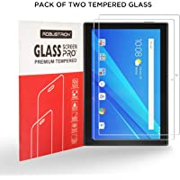Robustrion Pack of 2 Anti-Scratch & Smudge Proof Tempered Glass Screen Protector for Lenovo Tab 4 10 inch