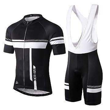 Celero Men/'s Cycling Suits Short Sleeve Bike Jersey and Bib Shorts Orange Suits