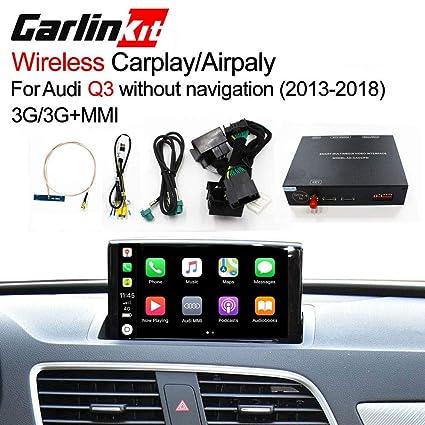 Wireless Carplay Box AirPlay Screen Mirroring for Audi Q3 MMI Factory  Screen Upgrade