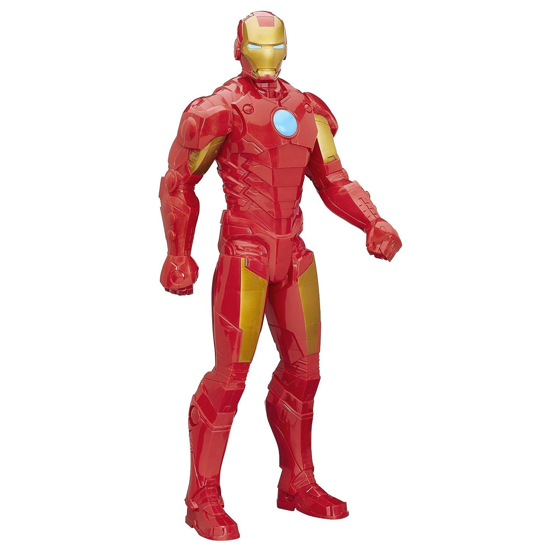Amazon.com: Marvel Titan Hero Series 20-Inch Iron Man: Toys ...