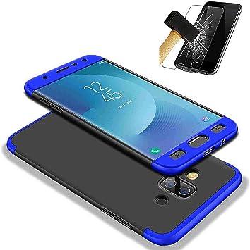 PANXIYUE Funda Samsung Galaxy J7 Duo 2018, 360 °Todo Incluido 3 en ...