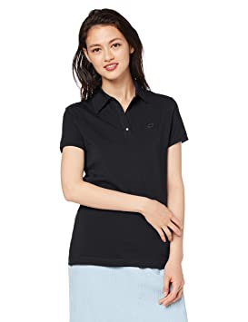 Lotto L73 Polo STC W - Polo, Mujer, Negro(BLK): Amazon.es ...