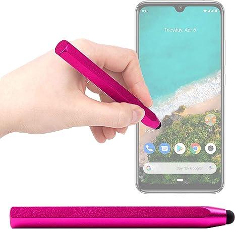 DURAGADGET Lápiz Stylus Rosa Compatible con Smartphone Xiaomi Mi ...