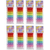 Parteet Stack Pencil Set- Pack of 6 for Birthday Party Return Gifts for Kids