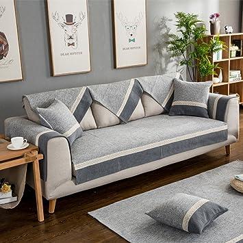 Nclon Verano Delgado Toalla de sofá Funda para sofá,Tela ...