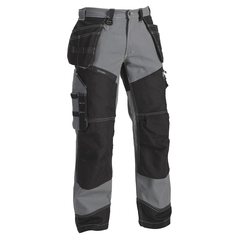 Blaklader PANTS メンズ グレー/ブラック B00BRJREWU
