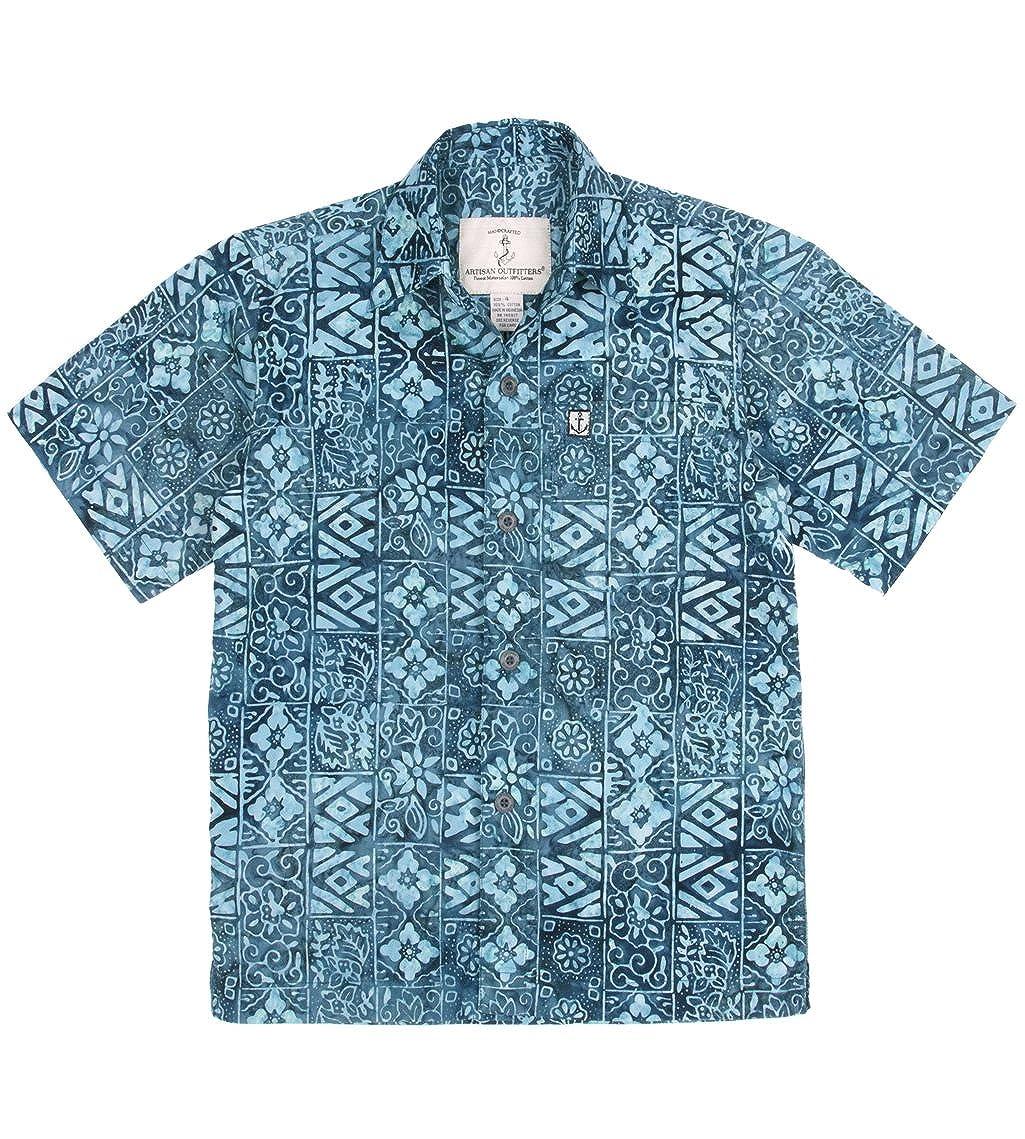 Artisan Outfitters Kids High Tide Batik Cotton Shirt