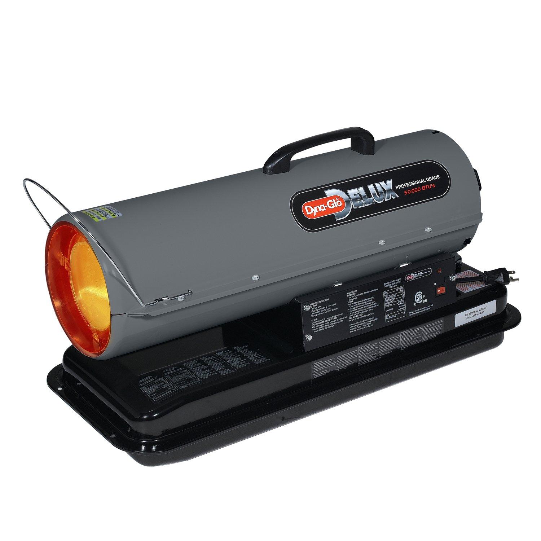 Amazon.com: Dyna-Glo KFA50DGD 50,000 BTU Kerosene Forced Air Heater: Home &  Kitchen