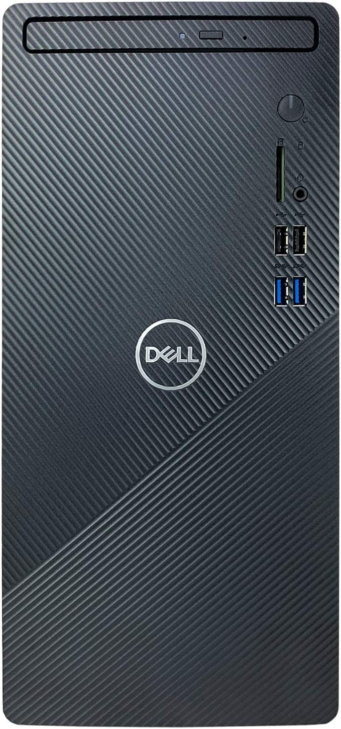 Dell Inspiron i3880 Desktop Computer - 10th Gen Intel 6-Core i5-10400 up to 4.30 GHz Processor, 8GB DDR4 Memory, 1TB Hard Drive, Intel UHD Graphics 630, DVD Burner, Windows 10 Home, Black