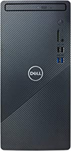 Dell Inspiron i3880 Desktop Computer - 10th Gen Intel 8-Core i7-10700 up to 4.80 GHz Processor, 16GB DDR4 Memory, 1TB SSD + 1TB Hard Drive, Intel UHD Graphics 630, DVD Burner, Windows 10 Home, Black