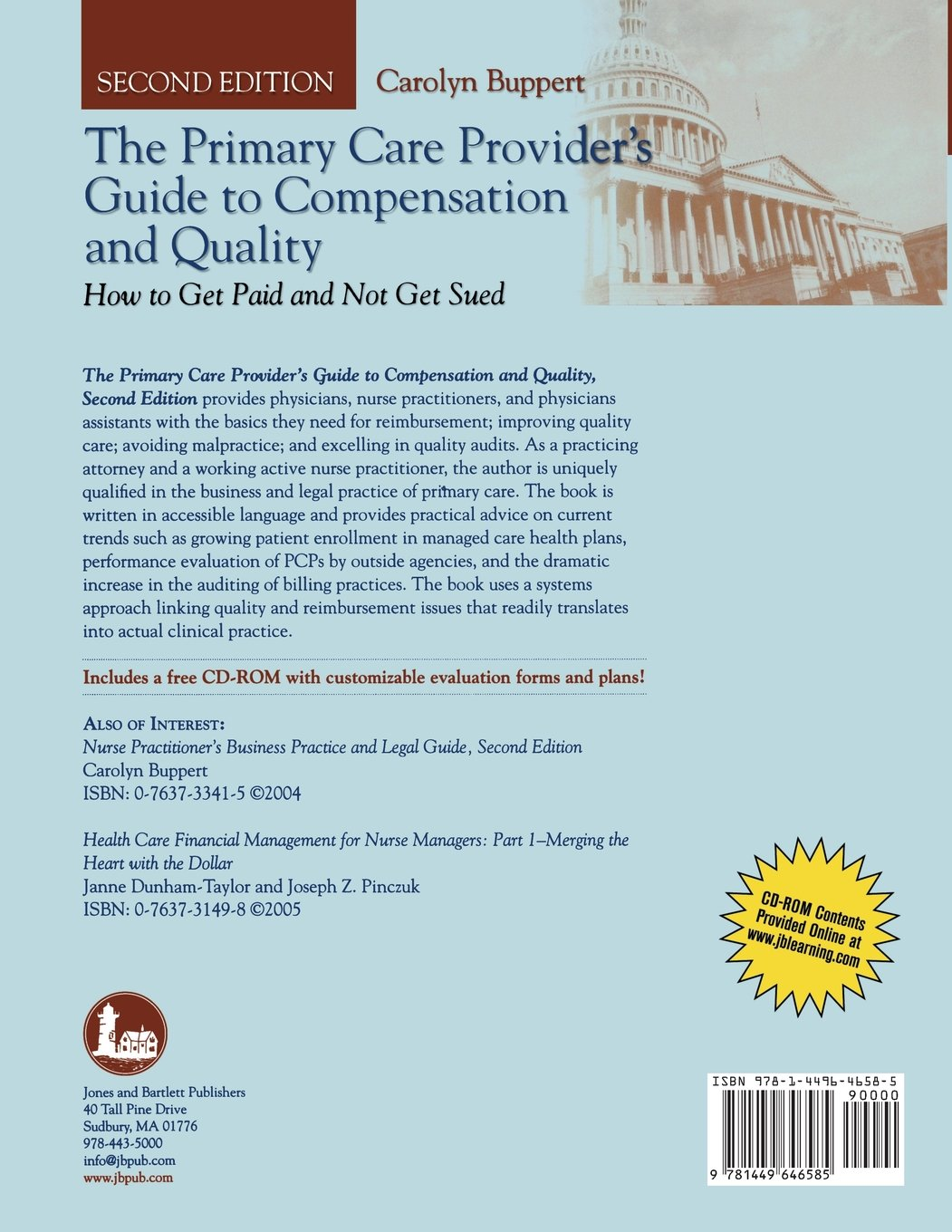 The Primary Care Provider's Guide to Compensation and Quality: Paperback edition