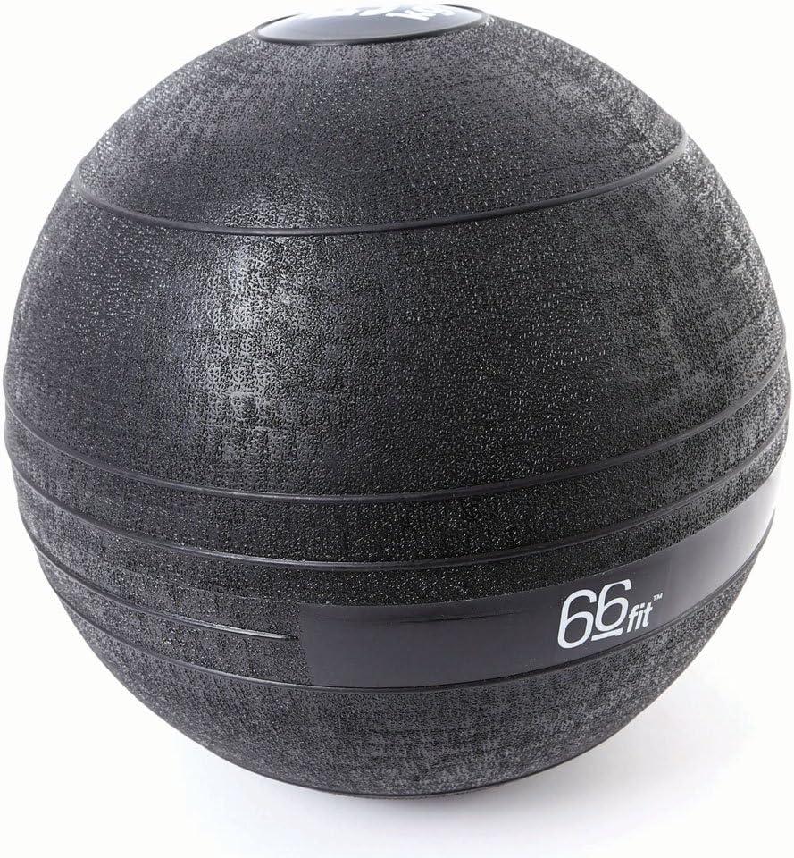 66 Fit - Pelota lastrada, Color Negro Negro Negro Talla:5 kg ...