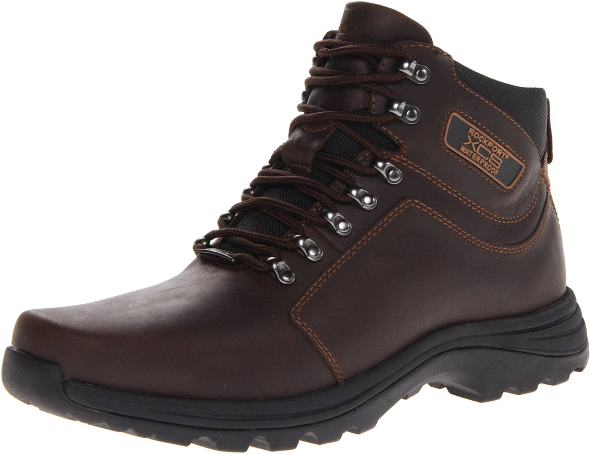 Rockport Men's Elkhart Snow Boot-Chocolate-9  M by Rockport