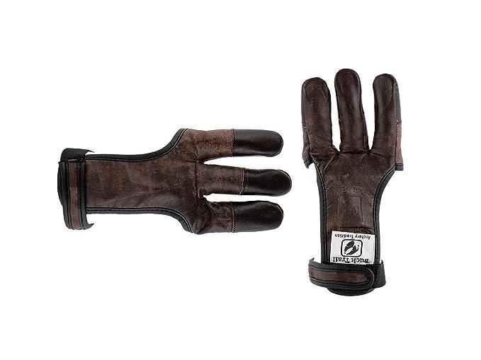 Buck Trail HSE-B-19349 Schiesshandschuh Bogenhandschuh Fingerschutz Gr M