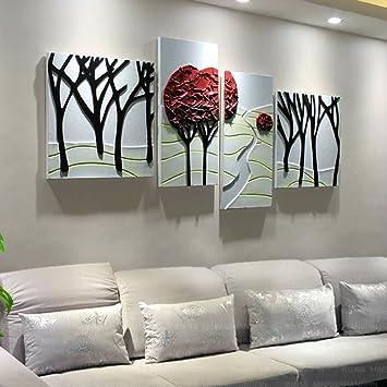 Amazon.de: Li jing home Wandbilder Wohnzimmer Sofa Hintergrund ...