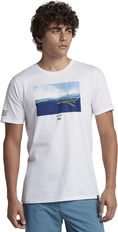 Hurley Men's AQ2453 Clark Week T-Shirt