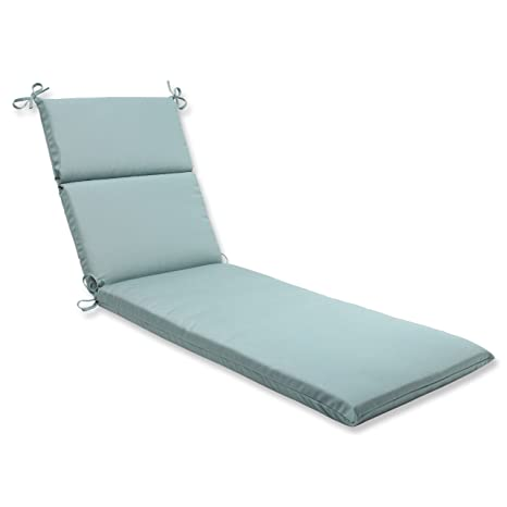 Amazon.com: Almohada perfecto Azul chaise longue Cojín con ...