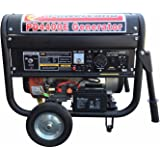 Powerland PD4400E 4.4 KW Portable Gas Generator 7.5 HP ELECTRIC Start Quiet 4 RV