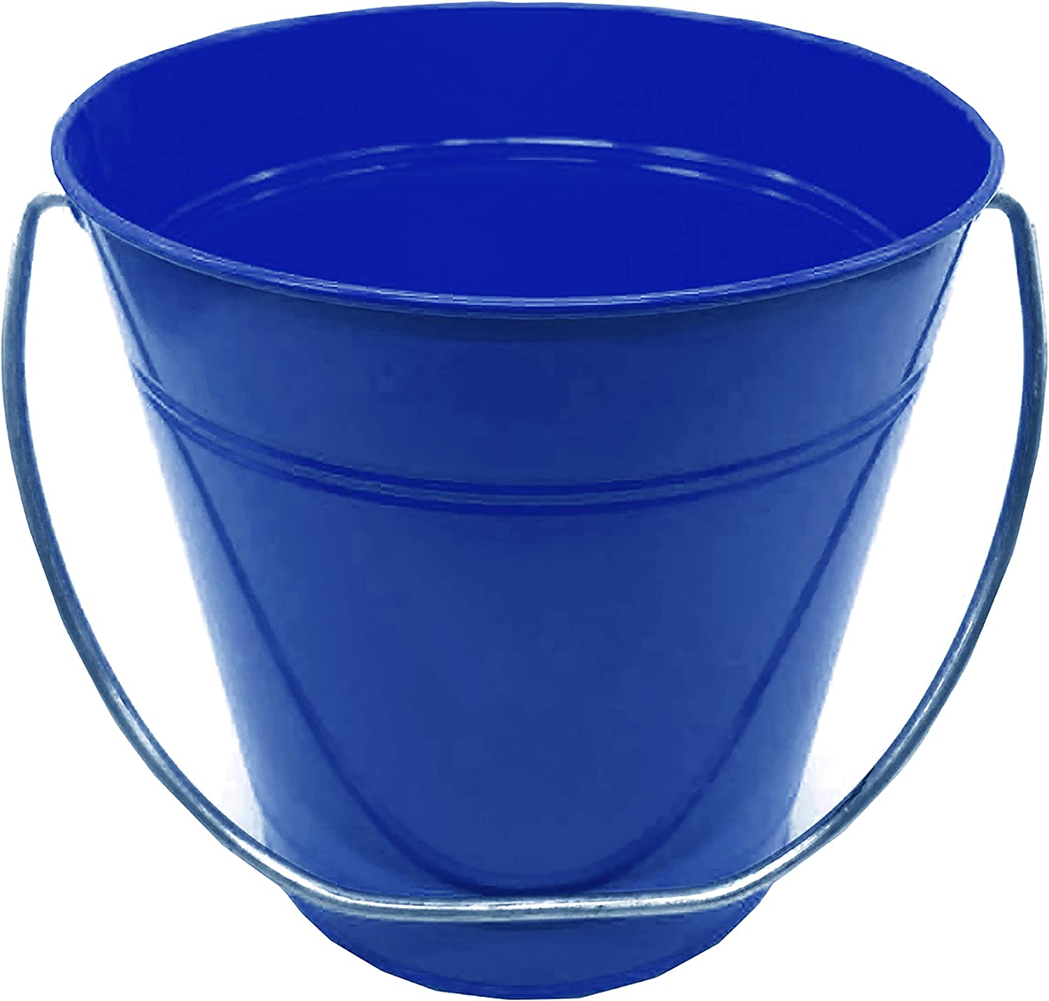 ITALIA 12 Pack Metal Bucket Party Favor Sizes 4.15x 5.31 12 Pack